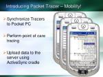 introducing pocket tracer mobility