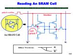 reading an sram cell