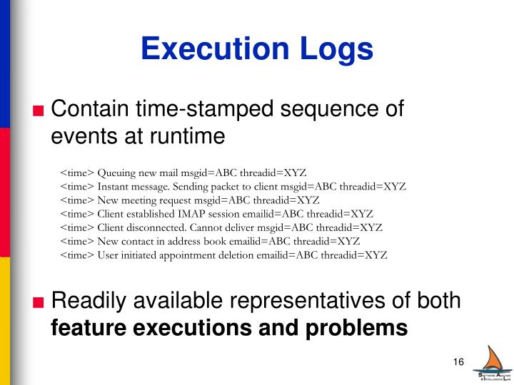 Execution Logs