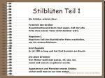 stilbl ten teil 1