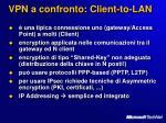 vpn a confronto client to lan