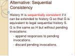 alternative sequential consistency1