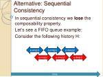 alternative sequential consistency5