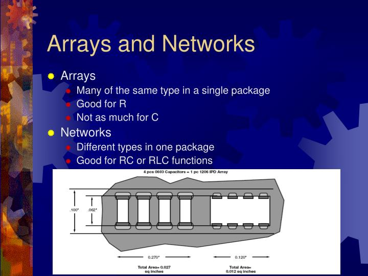 Arrays and Networks