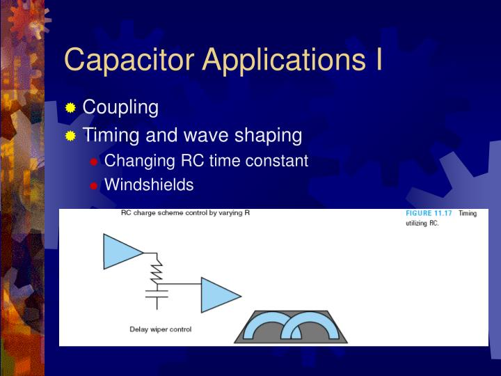 Capacitor Applications I