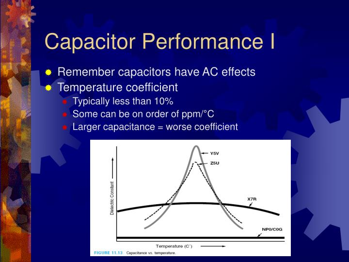 Capacitor Performance I