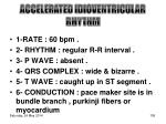 accelerated idioventricular rhythm