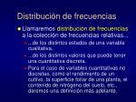 distribuci n de frecuencias