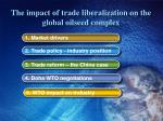 the impact of trade liberalization on the global oilseed complex