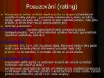 posuzov n rating