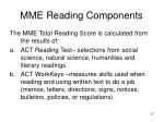 mme reading components