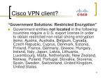 cisco vpn client1