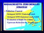 massachusetts zero mercury strategy1