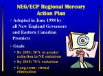 neg ecp regional mercury action plan