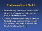 multinomial logit model1