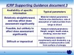 icrp supporting guidance document 31