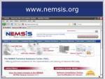 www nemsis org