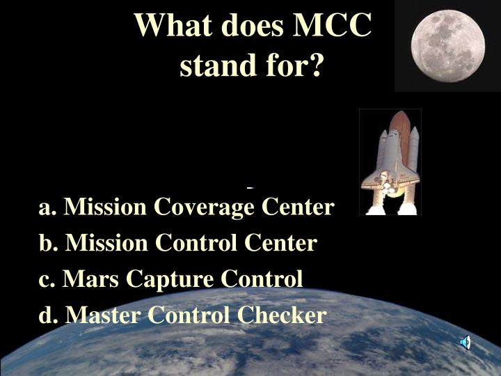 What does MCC
