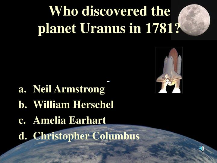 Who discovered the
