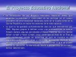el proyecto educativo nacional1