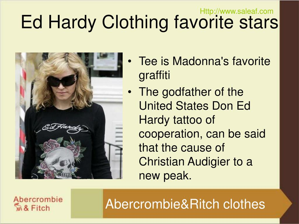 ed hardy clothing favorite stars l.