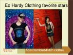 ed hardy clothing favorite stars4