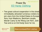 power by ed hardy clothing