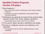 qualified tuition programs section 529 plans