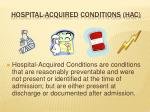 hospital acquired conditions hac