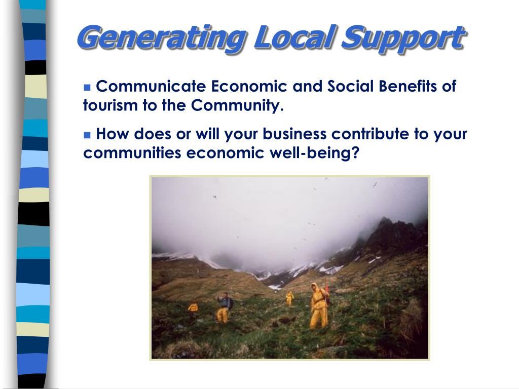 Generating Local Support