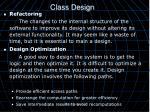 class design7