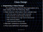 class design9