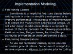 implementation modeling1