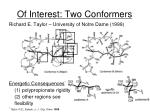 of interest two conformers
