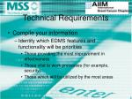 technical requirements7