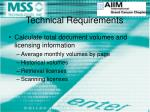 technical requirements8