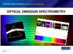 optical emission spectrometry
