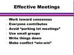 effective meetings1
