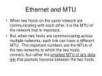 ethernet and mtu1
