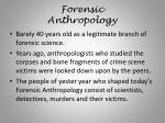 forensic anthropology1