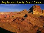 angular unconformity grand canyon