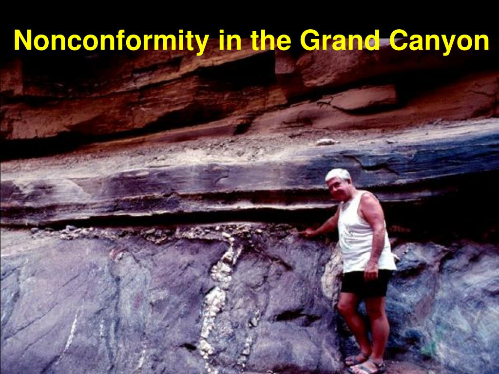 Nonconformity in the Grand Canyon