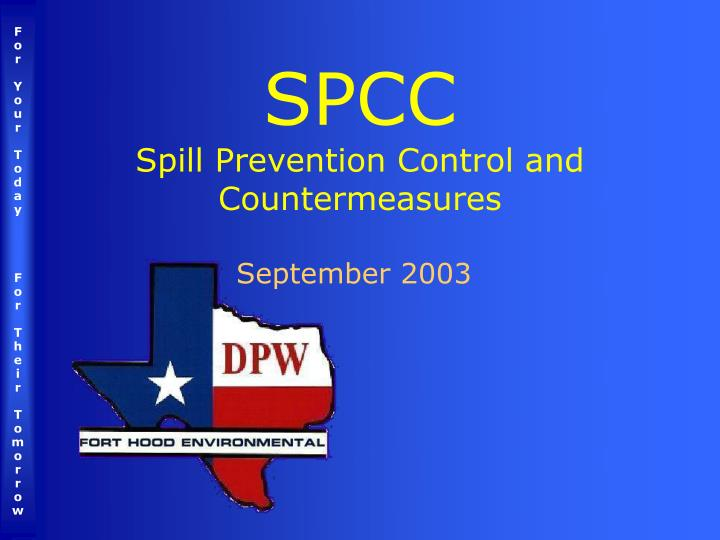 spcc spill prevention control and countermeasures n.