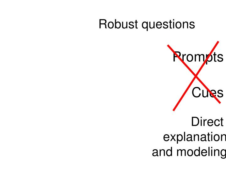 Robust questions