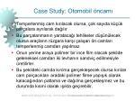 case study otomobil ncam