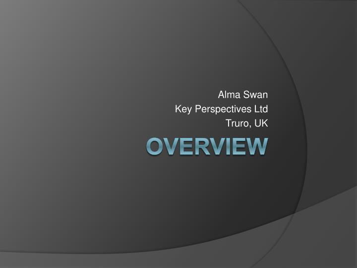 alma swan key perspectives ltd truro uk n.