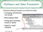 outliners and idea processors