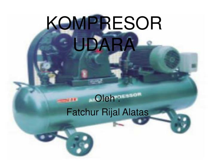 kompresor udara n.