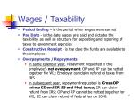 wages taxability