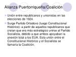 alianza puertorrique a coalici n